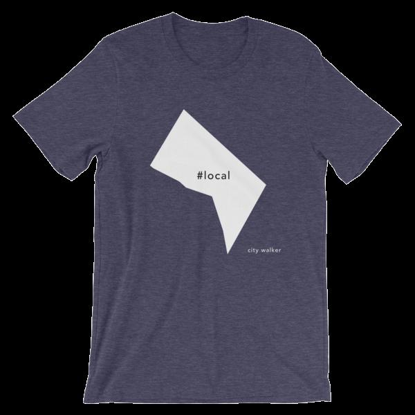 Midnight Navy Washington DC Local t-shirt