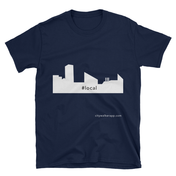 midnight navy Baltimore Local T-Shirt