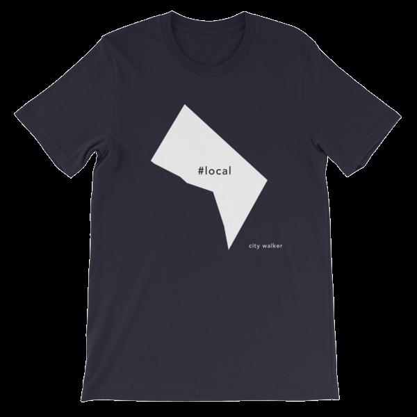 Black Washington DC Local t-shirt