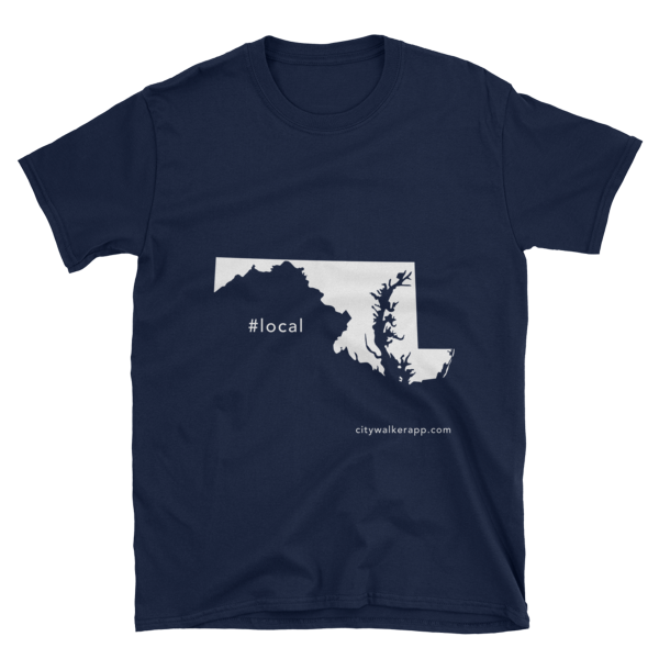 Night Blue Maryland Local T-shirt