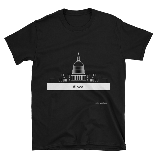 Black DC Capital T-shirt