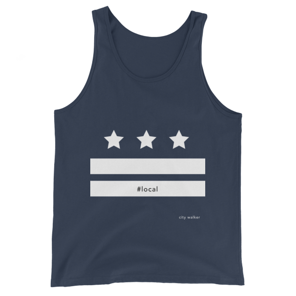 Blue/Grey DC LOCAL FLAG UNISEX TANK TOP
