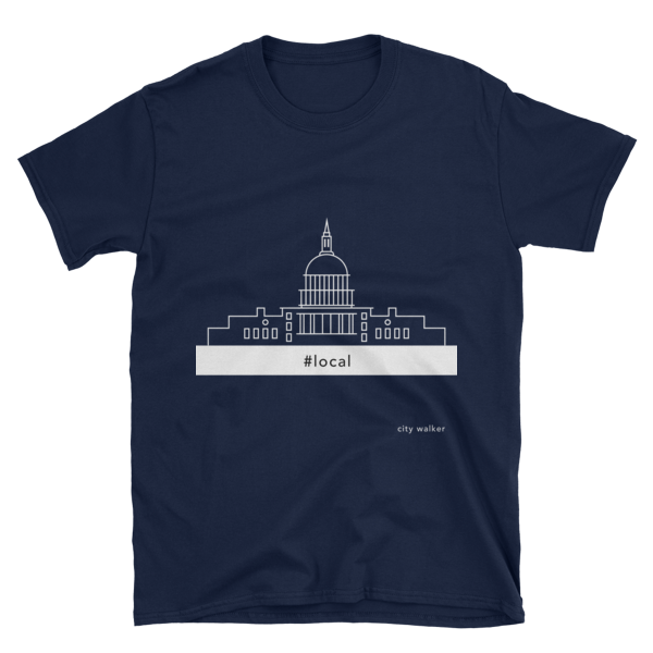 Night Blue DC Capital T-shirt