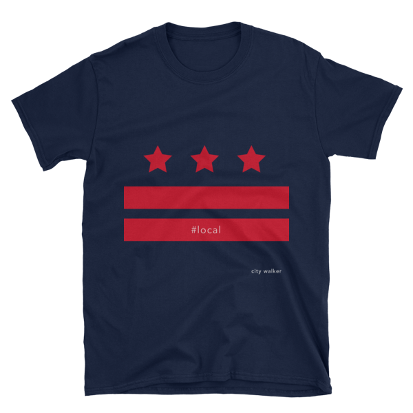The washington dc local red flag city walker shop for T shirts printing washington dc
